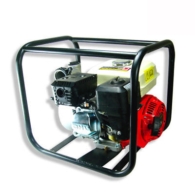 6.5 Hp Gas Water Semi Trash Pump 3 Inlet Outlet Marine Gasoline Epa Certified