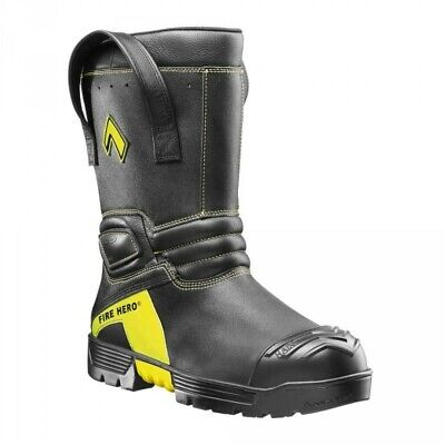 Brand New Haix Fire Hero Xtreme 11 Tall Leather Bunker Boot Mens 11.5 W Nfpa