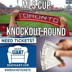 TORONTO FC PLAYOFF TICKETS FROM $26!!! HALF OFF FACE!!!