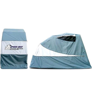 Speedway Motorcycle Storage Shelter