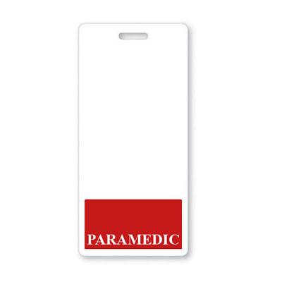 Vertical Paramedic Badge Buddy Hospital Medical Id Buddies By Specialist Id