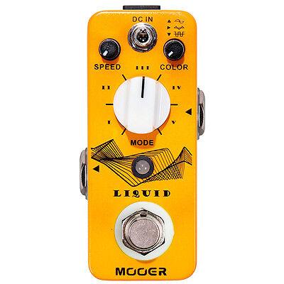 New Mooer Liquid Digital Phaser Guitar Effects Pedal!!