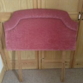 Head board for single bed, good quality headboard as new