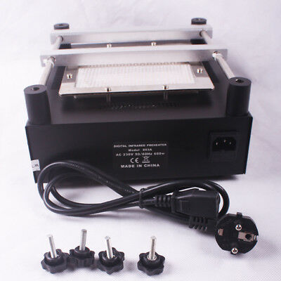 110220v Preheating Plate-soldering Station With Infrared Heating Plate Bst-853a