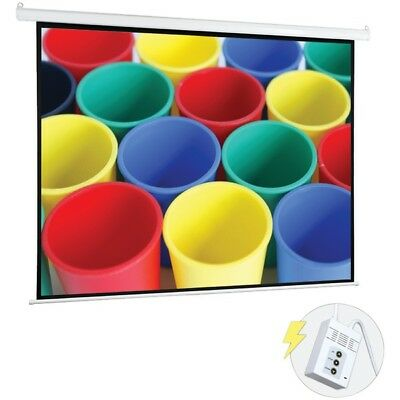 Pyle 84 Motorized Projector Screen Automatic Display Remote Prjelmt86