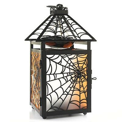 Spider Web Hanging Lantern Oil Tart Warmer Yankee Candle NEW halloween tealight