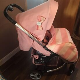 My Babiie MB99 Pink Pushchair