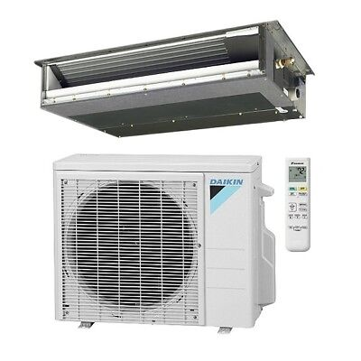 Daikin 12,000 Btu 15.5 Seer Single Zone Ducted Mini Split He