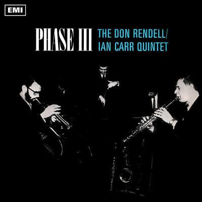 The Don Rendell / Ian Carr Quintet Phase III LP VINYL Jazzman 2019 NEW