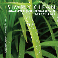 Simply Clean-Complete Housekeeping Service