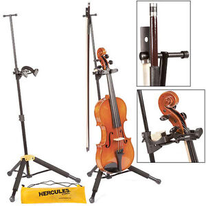 Hercules-TravLite-DS571BB-Adjustable-Violin-Viola-Stand