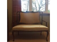 Vintage couch/love seat