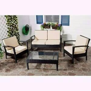 Outdoor Furniture Sofa Carribean 4 Seater/Back Cushions - Berwick Berwick Casey Area Preview