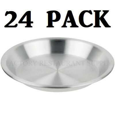 24 Pack 9 X 1 14 Aluminum Baking Pie Pan Commercial Bakery Sheet Medium Duty