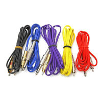 Flexible RCA Connection Clip Cord Tattoo 180cm