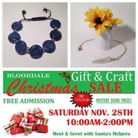 Sonse Handmade Jewelry and Crafts at Bloordale craft show!