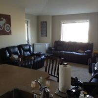 2 bed, 1 bath condo in chinook winds, airdrie