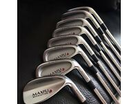 Maxfli revolution golf irons 3-SW (not Titleist, TaylorMade, Nike, Mizuno, Callaway)