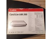 Canon CanoScan LiDE 200 colour image scanner