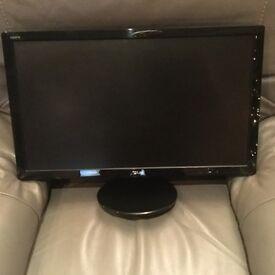 """2/ 24"""" asus wide screen monitors"""