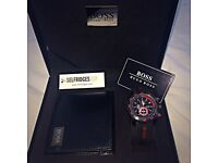 Hugo Boss Watch and Wallet Gift Set