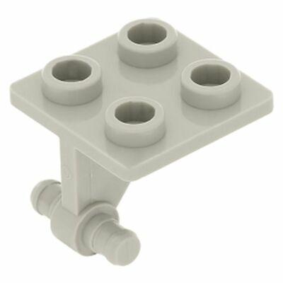 LEGO 6 x vecchia Pat Pend PIATTO GIREVOLE 4x4 elemento di rotazione PIASTRA GIREVOLE NERO