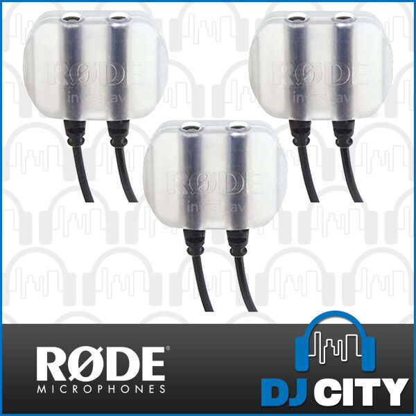 Rode InvisiLAV3 Discrete Mounting System for Lavalier Microphones Pack of 3