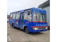 Left hand drive Toyota Coaster BB30L-MD 3.4 diesel 28 seats mini bus.