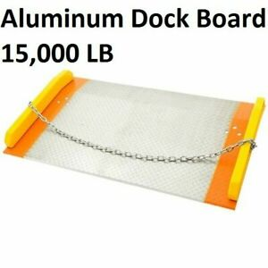 dock board and dock plate, heavy duty, light duty dock bridge