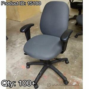 QUANTITIES of Adjustable Office Task Chairs: Various Styles, Colors, and Price Points