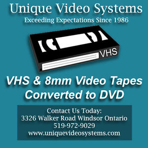 VHS to DVD Duplication