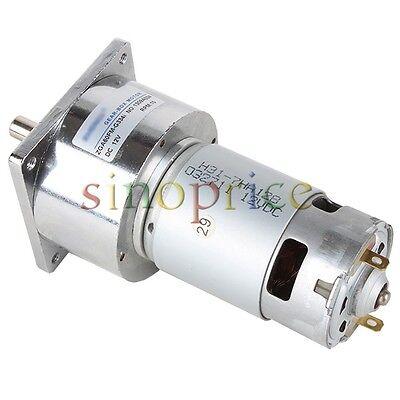 12v Dc 10 Rpm High Torque Gear Box Electric Motor 3500rmin 60mm Diameter