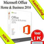 Microsoft Office Home & Business 2016 Retail | 32/64 bits |
