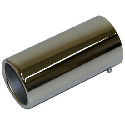 TAIL PIPE VAN MPV CHROME POLISED RACING EXHAUST REAR COVER TIP 55mm-65mm