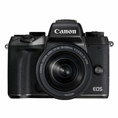 Near Mint! Canon EOS M5 with 18-150mm f/3.5-6.3 IS STM - 1 year warranty
