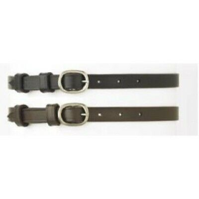 Camelot Ladies' Round Buckle Leather English Spur Strap (Camelot Leather)