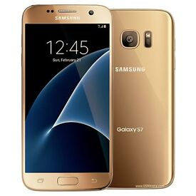 SAMSUNG S7 GOLD 32 GB BRAND NEW, UNLOCKED-OPEN TO ANY NETWORK