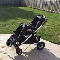 City Select Double Stroller & Accessories