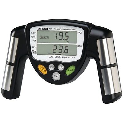 OMRON HBF-306C Body Fat Loss BMI Analyzer, Monitor