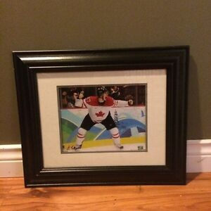 Sidney Crosby Framed Olympic Game Winning Goal