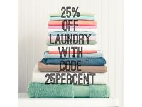 Laundrapp 25% Discount / Laundry & Dry Cleaning / Free collection & delivery