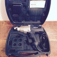 Impact Wrench, clé à chocs électrique avec coffre de transport
