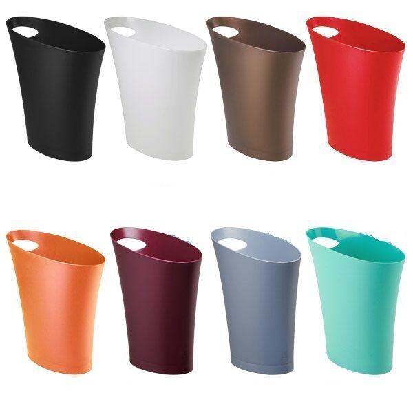Trash Waste Can Unique Modern Office Bathroom Basket Litter