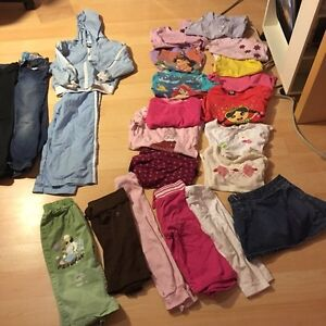 *Big garbage bag* girl clothes (5T-6T)