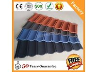 Colorful Classical type stone coated metal roofing tile for house