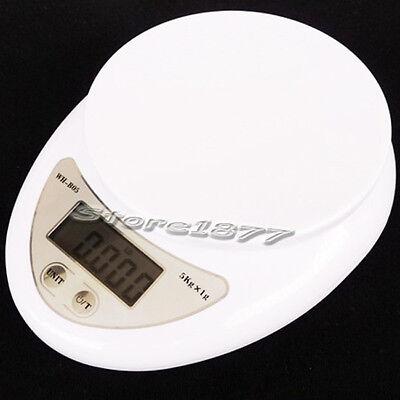New 5kg/1g Digital Kitchen Food Diet Postal Scale s141