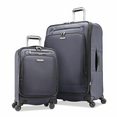 Samsonite Precision 2 Piece Soft Sided Luggage Set Grey