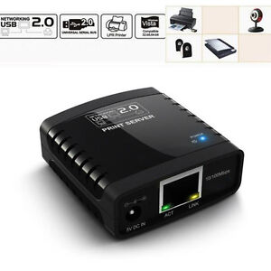 USB-2-0-LPR-Print-Server-Printer-Networks-LAN-Networking-Share-Hub-Adapter-BLS