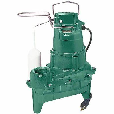 Zoeller M264 - 410 Hp Cast Iron Sewage Pump 2 W Vertical Float