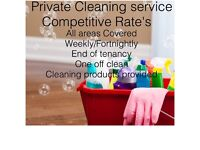 Private Cleaner's . Competitive Rate's